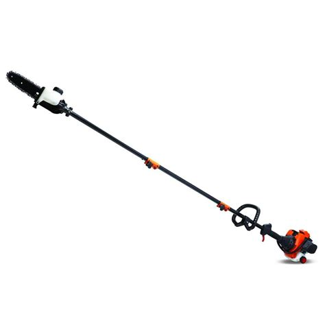 echo tree trimmer remington 8 in 25cc 2 cycle gas pole saw maverick the 3518