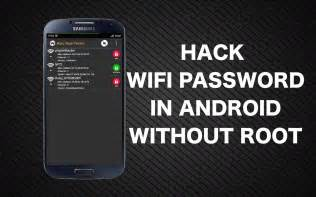 how to wifi password on android wifi password android app root