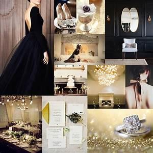 elegant black and gold wedding ideas With black and gold wedding ideas