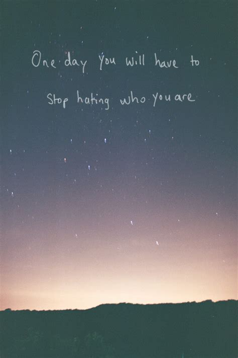 Stop Hating Me Quotes Tumblr