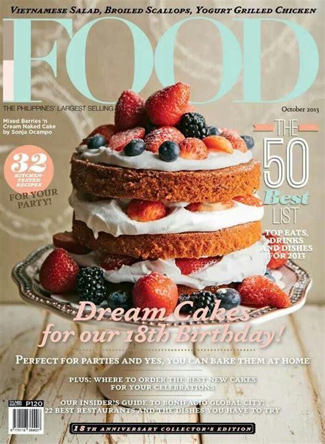 magazines cuisine food magazine design research