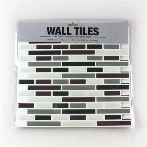 peel and stick kitchen tile frentes de cocina nuevos con estos azulejos adhesivos
