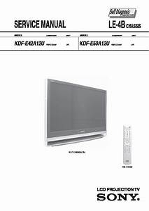 Sony Lcd Projection Tv Model Kdf