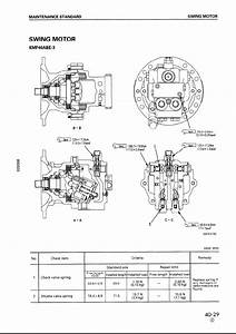 Komatsu Hydraulic Excavator Pc100