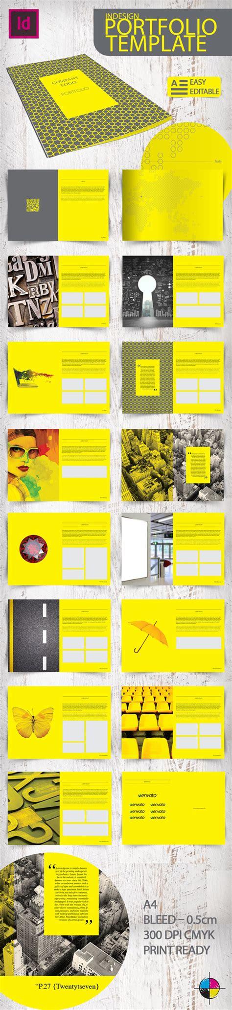 indesign portfolio template indesign portfolio template on behance