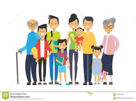 grandchildren cartoons illustrations vector stock