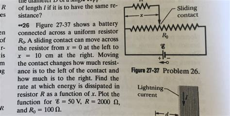 Solved Figure Shows Battery Connected Across