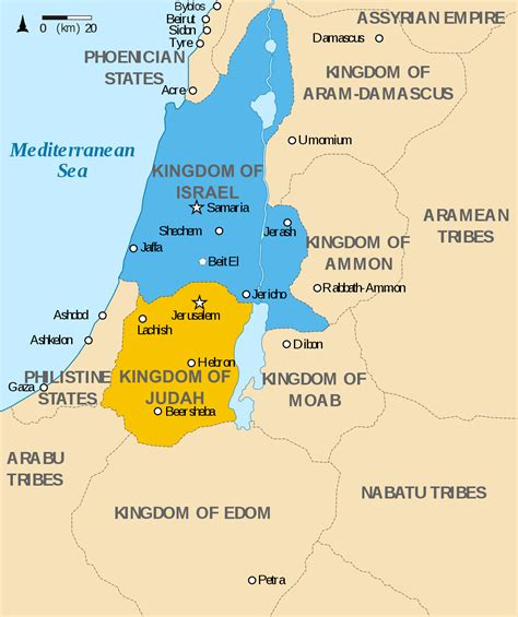 History Of Ancient Israel And Judah Wikipedia