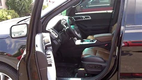 pecan leather    ford explorer limited youtube