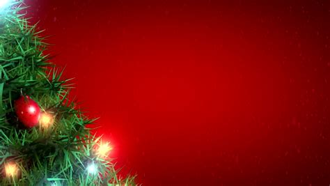 footage background high definition christmas balls stock