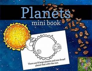FREE! This Planets Mini Book will introduce young learners ...