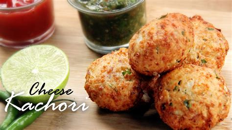 Cheese Kachori Cheese Balls Recipe Stuffed Cheese Balls