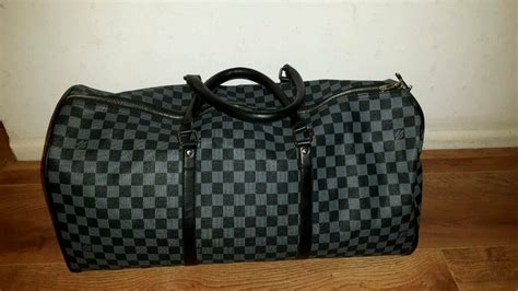 mens travel louis vuitton duffle bag  leicester leicestershire gumtree