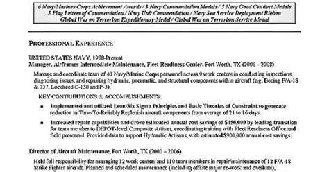 Aviation Resume Builder by Aviation Resume Exle Resume Exles