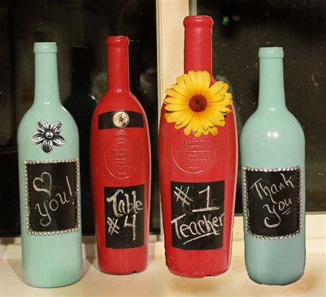 wine bottle decorative painted wine bottle allfreechristmascrafts com