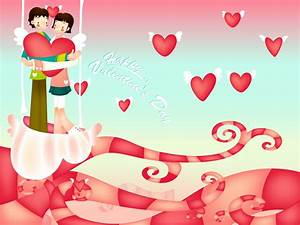 The Cat: Valentines Day - Love Wallpapers for Desktop free