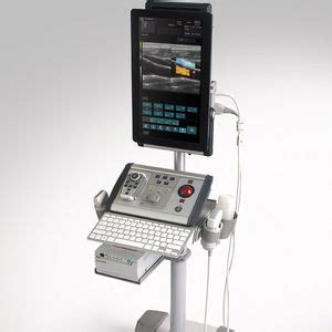 Portable, with trolley ultrasound system - ALBIT - Echo ...