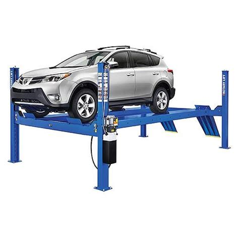 Auto Lift, 4 Post, 14,000 Lb. Surface Mounted Lift (rotary