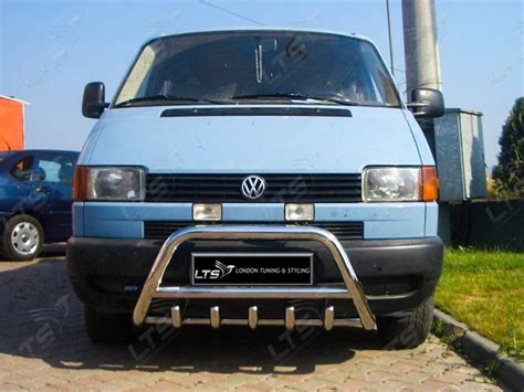 vw t4 transporter chrome axle nudge a bar bull bar ebay