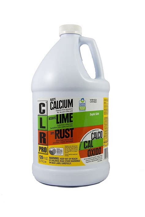 rust remover clr lime calcium pro loctite jelly naval gallon zep bathtub 4pro cl dissolver cleaners amazon bottle cleaner clean