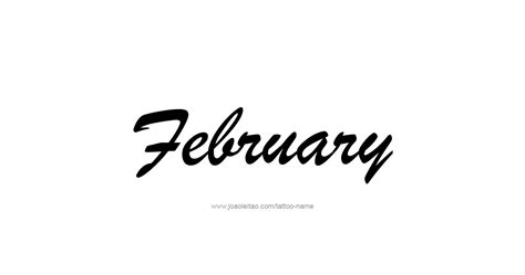 february month  tattoo designs tattoos  names