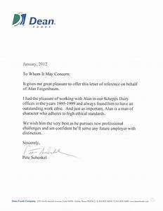 Dean Foods Remendation Letter