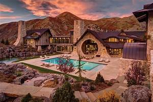 Insane mountain dream home with views of the Wasatch Range