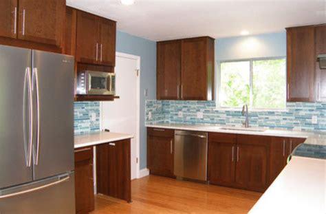 41215 modern cherry kitchen cabinets modern cherry cabinets contemporary kitchen