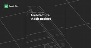 Architecture Thesis Methodology Diagram