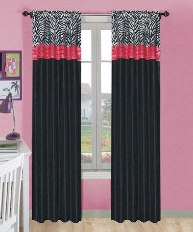 black and pink curtains 25 best ideas about zebra curtains on zebra