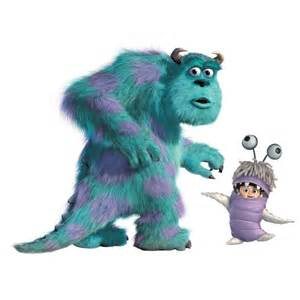 Monsters Inc Sulley and Boo