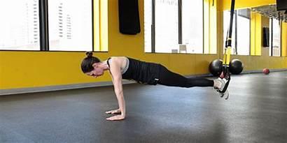 Trx Butt Tone Workout Shape Pushup Training