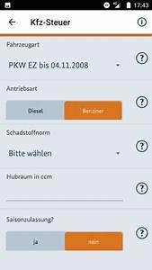 Diesel Steuern Berechnen : heute zahle ich kfz steuer check app ~ Themetempest.com Abrechnung