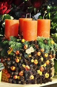 Weihnachtsdeko Natur Ideen Zum Selbermachen : adventskranz basteln das highlight in der adventszeit ~ Orissabook.com Haus und Dekorationen