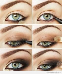 Dark-brown-smokey-eye-makeup-tutorial - Makeup Tips And Review