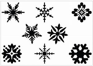 Snowflakes snowflake clipart black and white free clipart ...