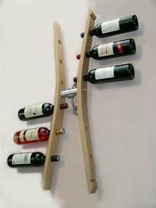 Range Bouteille Mural : porte bouteilles mural porte bouteille design support bouteille range bouteille am nagement ~ Teatrodelosmanantiales.com Idées de Décoration