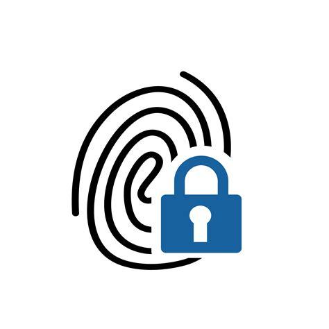 secure identity logo flying cloud design shop royalty