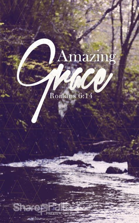 amazing grace christian bulletin sermon bulletin covers