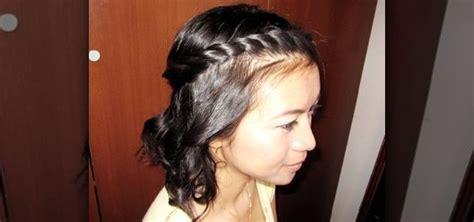 How To Braid Your Bangs Into A Bohemian Twisted Rope
