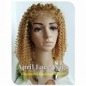 Chinese virgin human hair special Curly full lace wig with ...