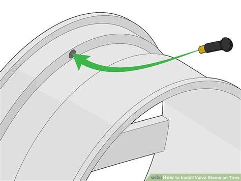 3 Ways To Install Valve Stems On Tires