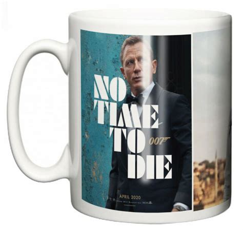 Dirty Fingers Mug, Daniel Craig James Bond No Time To Die ...