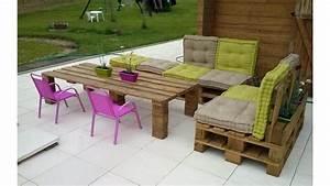 Coussin Pour Salon De Jardin En Palette : 20 id es pour fabriquer un salon de jardin avec des ~ Dailycaller-alerts.com Idées de Décoration