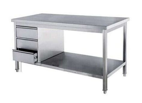 stainless steel kitchen island table the 25 best stainless steel work table ideas on