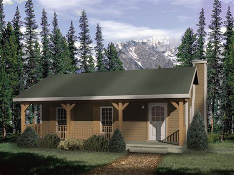 Country Cabin Floor Plans by Woodbriar Rustic Country Cabin Plan 058d 0136 House