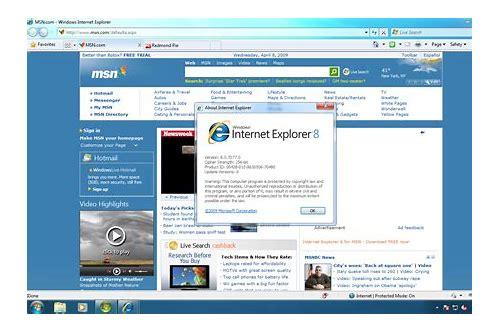 download internet explorer version 8 free