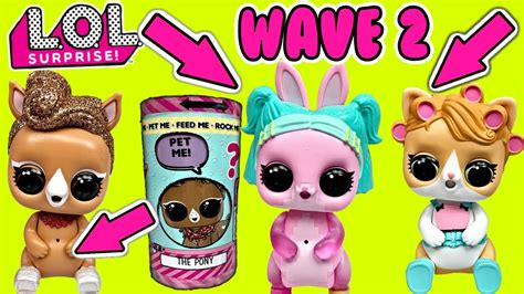 lol surprise dolls glitterati wave   surprise pets