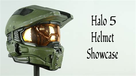 Halo 5 Master Chief Helmet Showcase Youtube