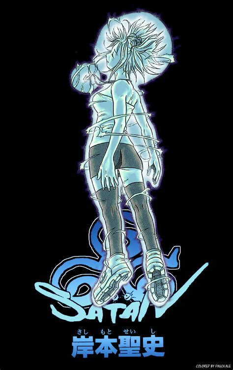 satan kishimoto seishi zerochan anime image board